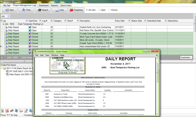 Accubuild Construction Accounting Software Screenshot